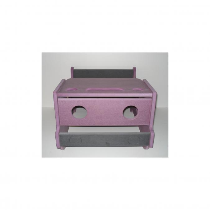 L'artisan du meuble ROLLAND - Bureau enfant bois violet - jouet en bois