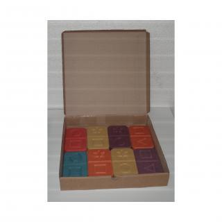 L'artisan du meuble ROLLAND - Domino bois couleur 8 pièces - jouet en bois