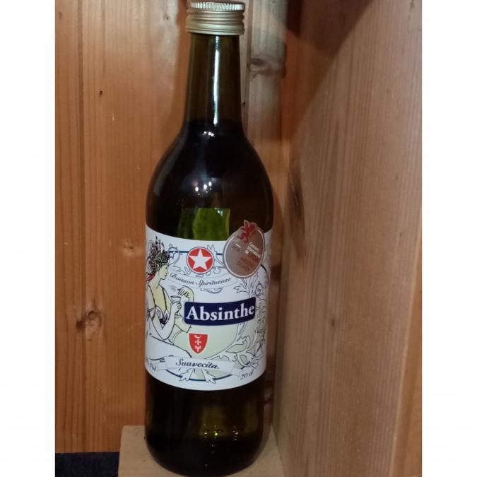 La Semilla - Distillerie Aymonier - Absinthe bio La Suavecita - Absinthe