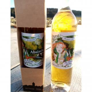 La Semilla - Distillerie Aymonier - Absinthe La Rebelle Déchênée bio - Absinthe