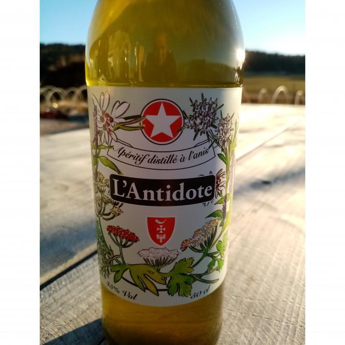 La Semilla - Distillerie Aymonier - Apéritif anisé bio, L'Antidote - Apéritif