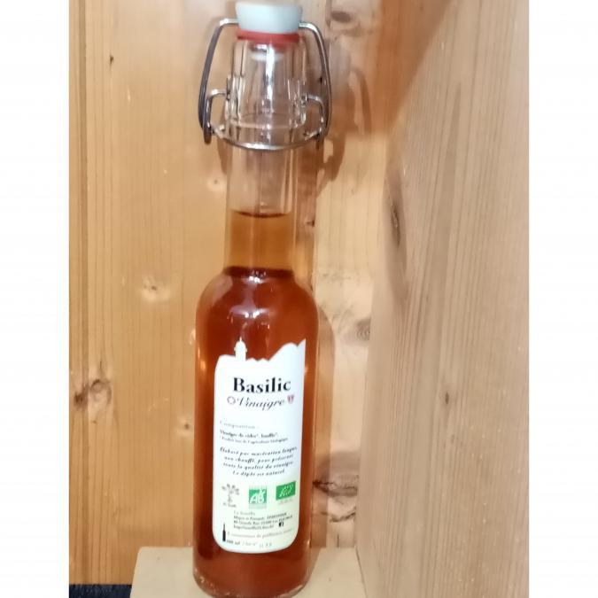 La Semilla - Distillerie Aymonier - Vinaigre au Basilic bio - Vinaigre -  -