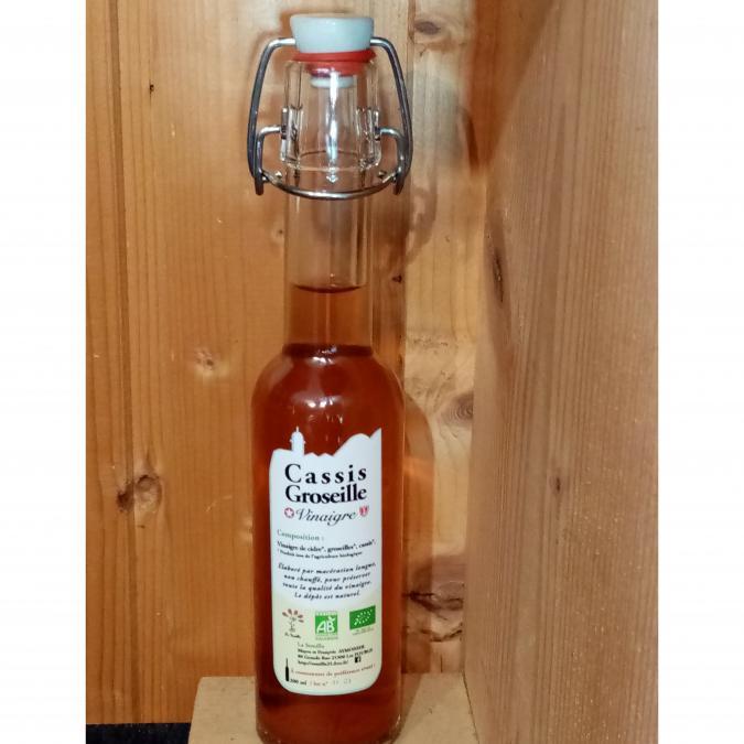 La Semilla - Distillerie Aymonier - Vinaigre Cassis Groseille bio - Vinaigre -  -