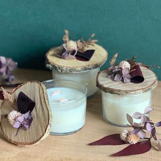 L'Atelier Hanami - Bougie végétale Fleur de Sakura - Bougie - Fleur de Sakura