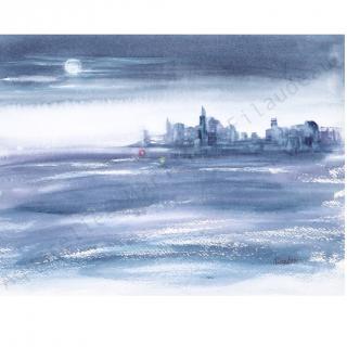L'atelier d'ART du port - Tirage d'art New-York Moonlight - tirage d'art