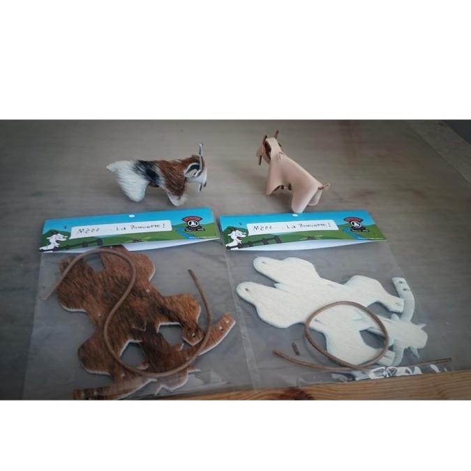LBAG-La Boîte à Gromolls - Mèèè La Biquette - Figurine