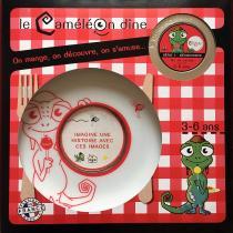 Le CaméléOn dîne - Jeu éducatif autour du repas dès 3 ans - Assiette ( enfant )