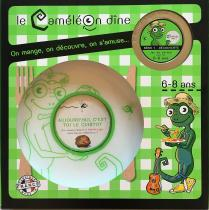 Le CaméléOn dîne - Jeu éducatif autour du repas dès 6 ans - Assiette ( enfant )