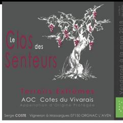 Le Clos des Senteurs - Cuvée Terroirs Extrèmes - rouge - 2018 - Bouteille - 0.75L