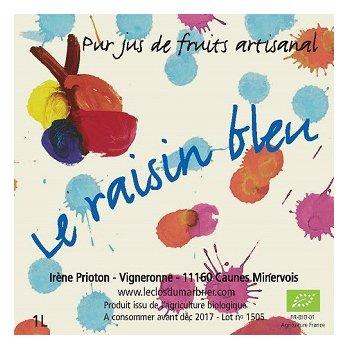 Le Clos du Marbrier - Le raisin bleu - Jus de fruit