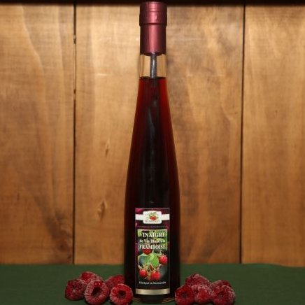 Le Domaine du Framboisier - Vinaigre à la framboise - Vinaigre -  - 37.5 ml