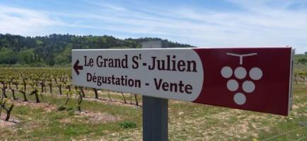 LE GRAND SAINT JULIEN - VINS AOC DU LUBERON ET DU VENTOUX - IGP MEDITERRANEE