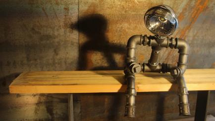 Le Labo du Kraken - Fabrication artisanal de luminaires, décorations et mobiliers au style industriel