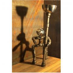 Le Labo du Kraken - Edward le New-yorkais - Lampe de bureau - ampoule(s)
