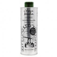 Le Vieux Moulin Alain Farnoux - BIDON D'HUILE D'OLIVE VIERGE EXTRA « VIEUX MOULIN » 500 ML - Huile d'olive