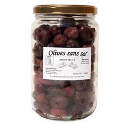 Le Vieux Moulin Alain Farnoux - OLIVES SANS SEL 450G - Olives