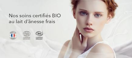 Leanorbio - 1er Producteur de Lait d'Ânesse Bio en Europe et Créateur des produits Leanorbio