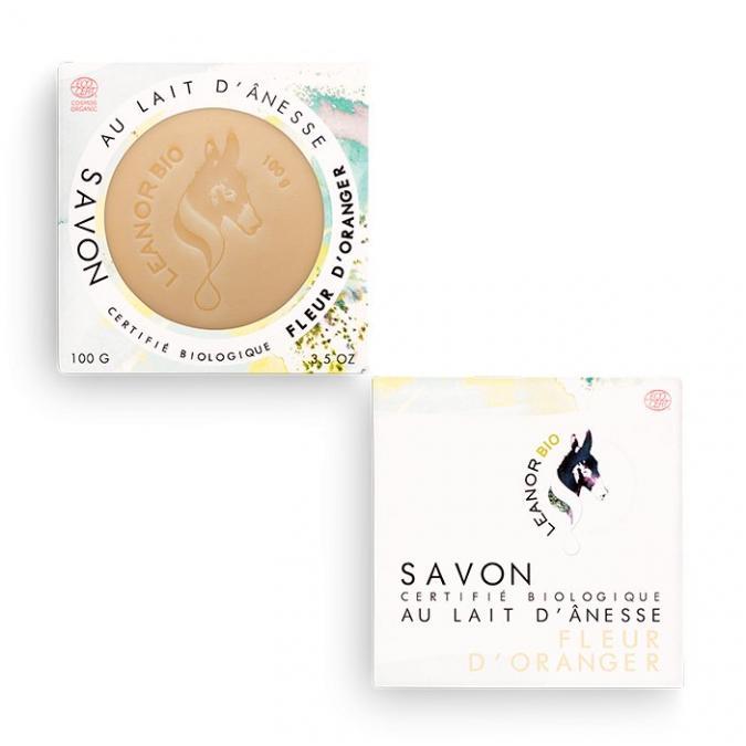 Leanorbio - Savon Fleurs d'Oranger - Savon - 0.116