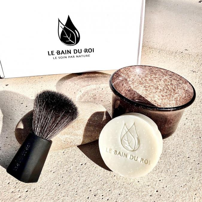 LEBAINDUROI - Coffret de Rasage Parfait Bio Essentiel - coffret à barbe