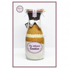 Leely-Rose Créations - Préparation cookies bio aux pépites de chocolat et coco - préparation gâteau