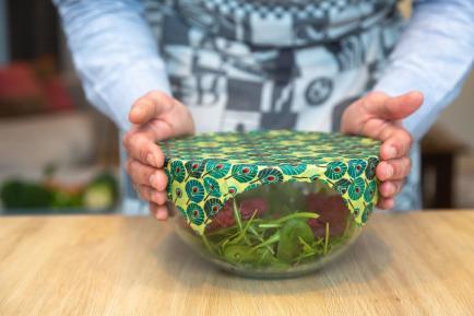 L'embeillage - Emballages alimentaires écologiques à base de cire d'abeille et coton biologique