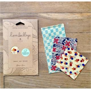 L'embeillage - L'embeillage - Pack Découverte - Emballage réutilisable