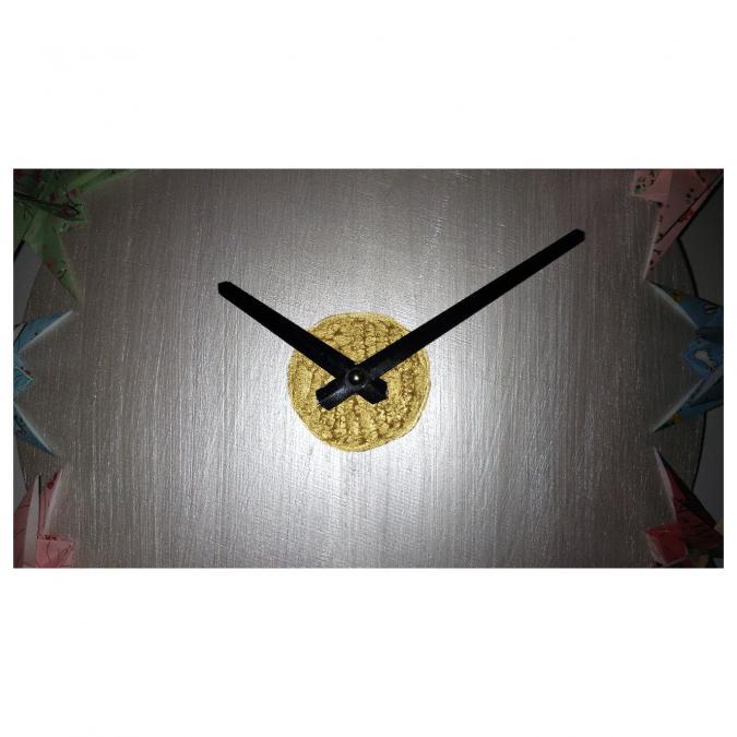 Le papier d'Emma est là - Horloge à licorne - Horloge -