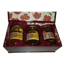 Les Butineuses du Castagnos - COFFRET COQUELICOT MIEL - Miel - 2.500 kg