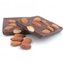 Les chocolats de Maud - Tablette gourmande Noir Amandes - Chocolat