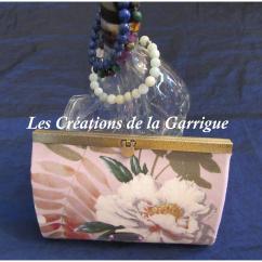 Les Créations de la Garrigue - Compagnon à soufflet Igor - Portefeuille - Violet