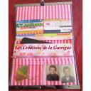 Les Créations de la Garrigue - Compagnon plat Aramis - Portefeuille - Gris