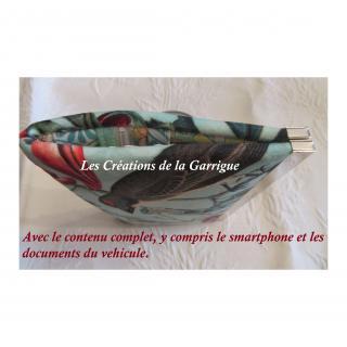 Les Créations de la Garrigue - Compagnon plat Géronte - Portefeuille - Multicolore