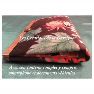 Les Créations de la Garrigue - Compagnon plat Thibaut - Portefeuille - Multicolore