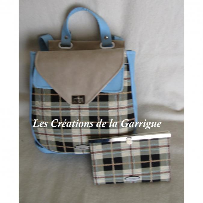 Les Créations de la Garrigue - Compagnon plat Yvan - Portefeuille - Beige