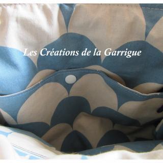 Les Créations de la Garrigue - Sac à dos chic Jean-Dan - Sac à dos