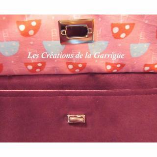 Les Créations de la Garrigue - Sac à langer et ses accessoires - Sac à langer