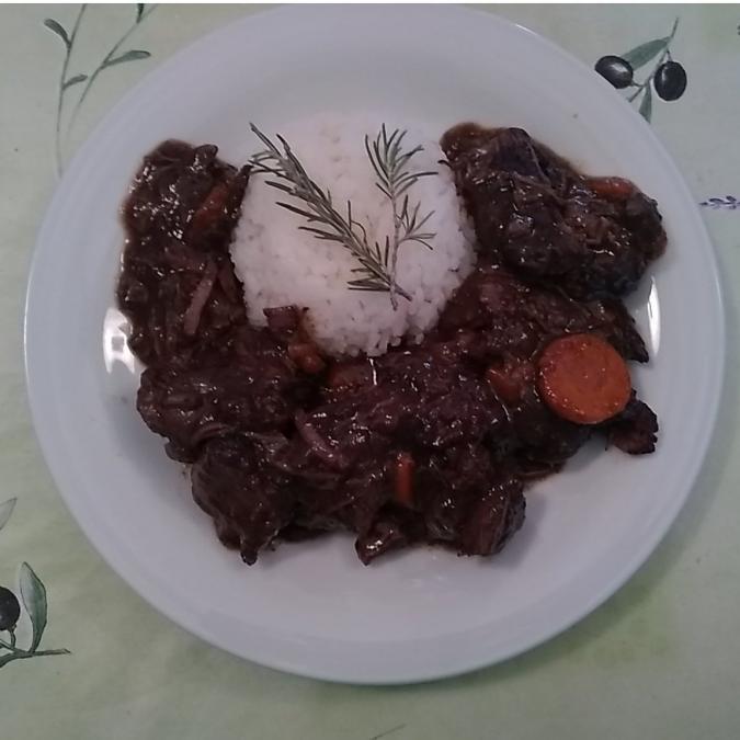 Les Délices du Scamandre - Gardiane de Taureau à cuisiner +/-800 g - viande