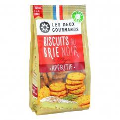 LES DEUX GOURMANDS - Biscuits au Brie Noir et Thym - Apéritif et biscuits salés - 4668
