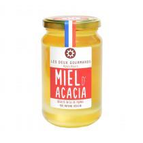LES DEUX GOURMANDS - Miel d'Acacia - Miel - 500g