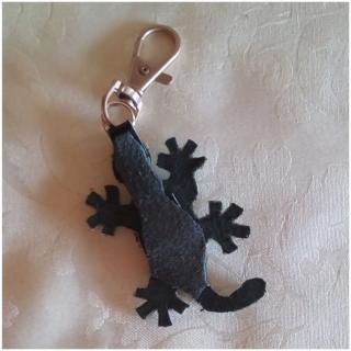 Les Fée...rmetures éclair - Oxylia l'élégante salamandre - bijou de sac