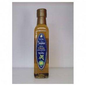 Les Huiles de Joséphine - Préparation alimentaire à base d'huile vierge de colza, d'aromate (basilic) et d'arôme naturel (basilic) 25cl - Huile - 0.500
