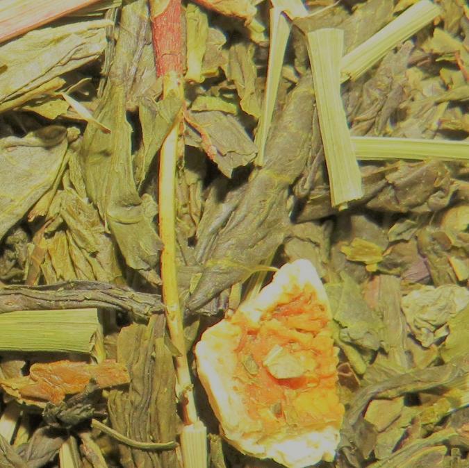 Les Mains Lys - Citron Frais (100gr) - Thé - Thé vert
