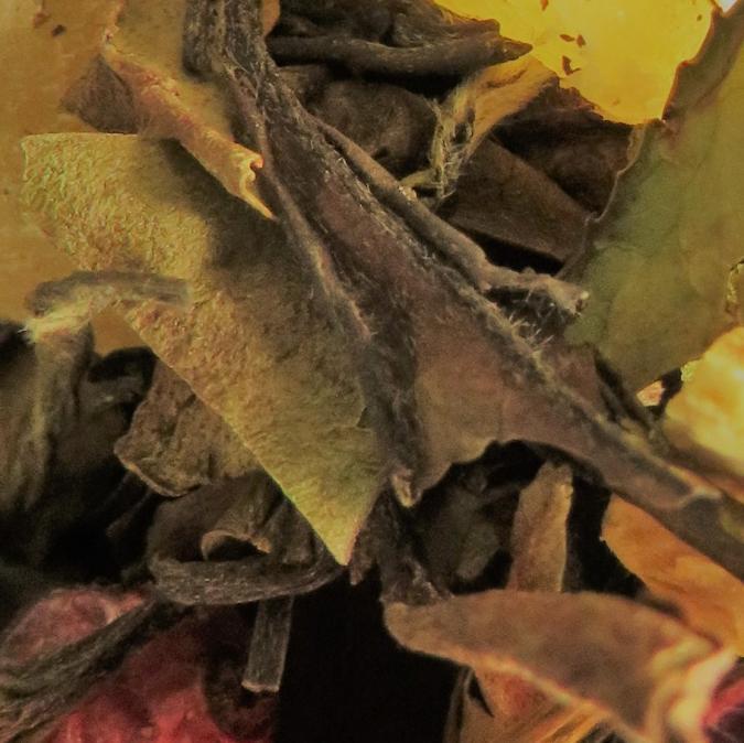 Les Mains Lys - Le Thé du Dragon, saveur Litchi Pêche (100gr) - Thé - 4002