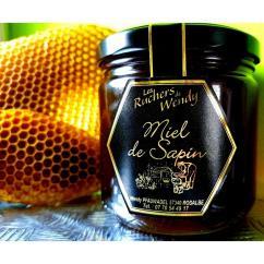 Les Ruchers de Wendy - Miel de Sapin - Miel - 250 gr