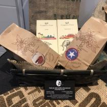 LES TORREFACTEURS NORMANDS - Café moulu et chocolat Cuba - Tanzanie - café et tablette de chocolat