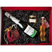 """Le Safran - Delphine Liegeois - Coffret """"Champagne & Safran"""" - Coffret, Panier (gastronomie)"""