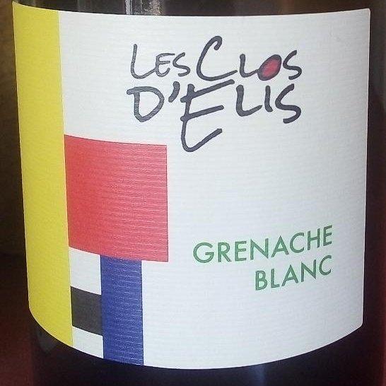 LES CLOS D'ELIS - VIN BIO ET NATURE - HERAULT 34 - Grenache blanc - 2018 - Bouteille - 0.75L