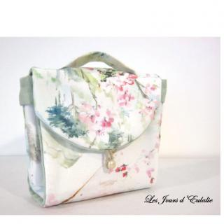 Les Jours d'Eulalie - Mug Bag sac à l'heure du thé - Pochettes, sacs