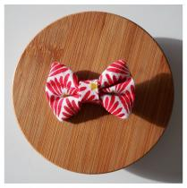 Les Nœuds-Nœuds - Barrette origami rouge - Barrette