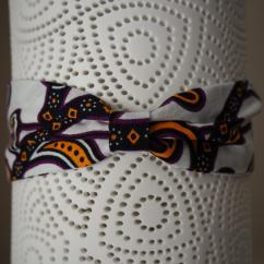 Les Nœuds-Nœuds - Headband à nouer en wax - Bandeau adulte